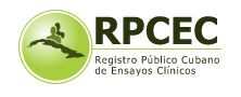 Cuban Public Registry of Clinical Trials (RPCEC)