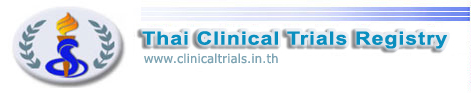 Thai Clinical Trials Registry (TCTR)