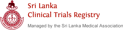 Sri Lanka Clinical Trials Registry (SLCTR)